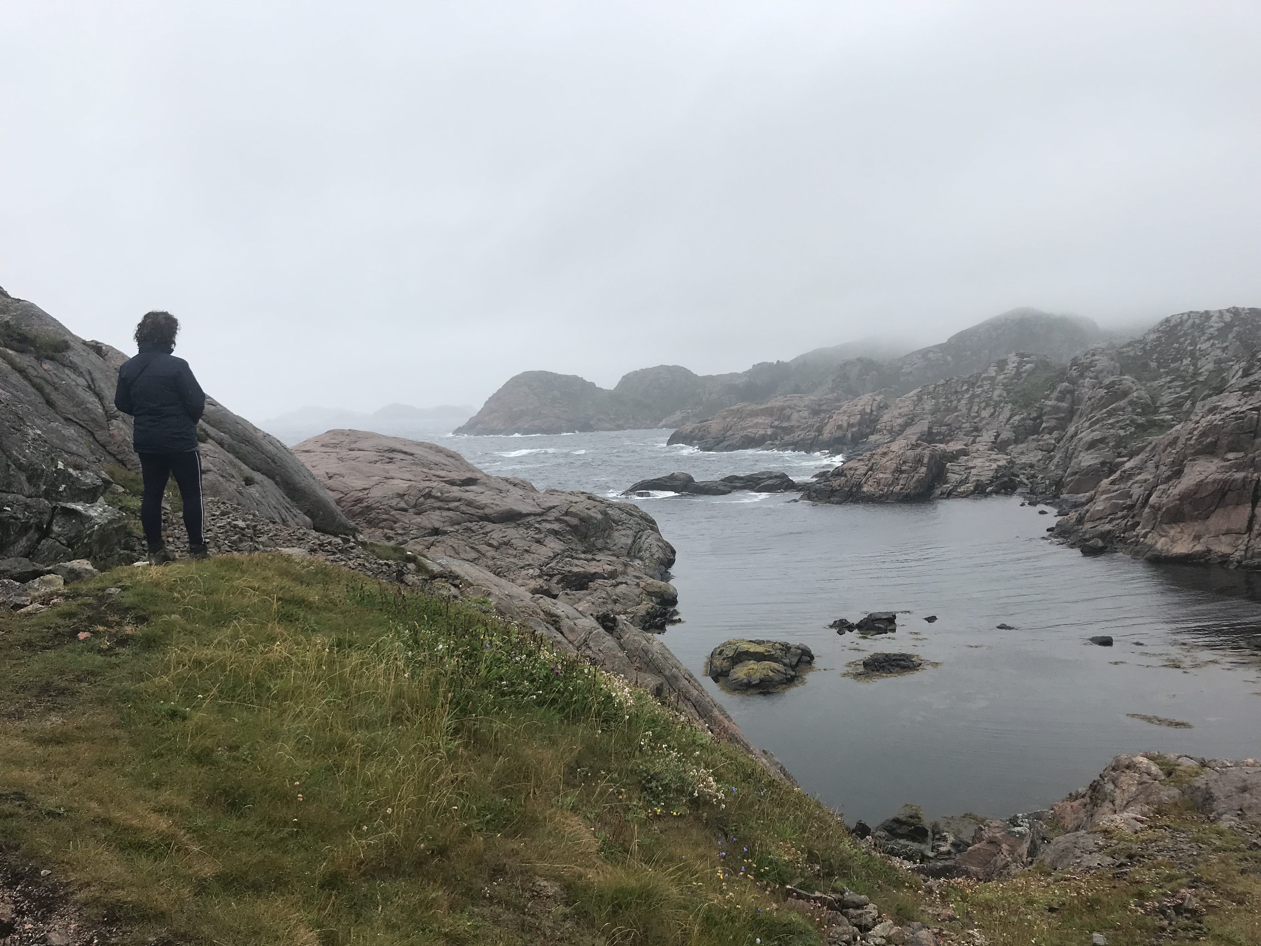 De overtocht naar Kristiansand Noorwegen